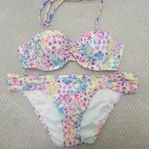 Vs PINK Colorful Print Bikini